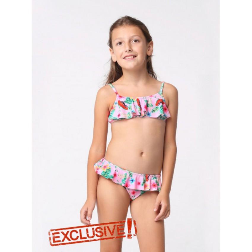22b66eaa7e3df Детский купальник раздельный Keyzi Fruits р.122-146 купить в ...