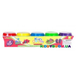 Набор массы для лепки 5 цветов Kid'sToys 11034