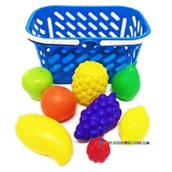 Корзинка с фруктами, 8 предметов Kinderway 04-453