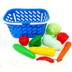 Корзинка с овощами, 9 предметов Kinderway 04-454