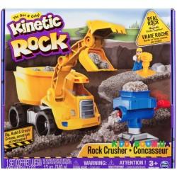 Кинетический гравий Kinetic rock crusher с самосвалом Kinetic Sand 11301 (серый)