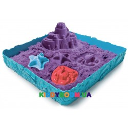Замок из кинетического песка (фиолетовый) Wacky-Tivities Kinetic Sand 71402P