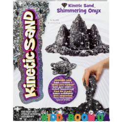 Набор кинетический песок Wacky Tivities Kinetic Sand Metallic черный 71408On