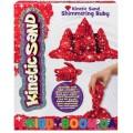Набор кинетический песок Wacky Tivities Kinetic Sand Metallic красный 71408Rub