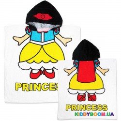 Полотенце с капюшоном Принцесса пл18