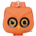 Детский рюкзак каркасный Сова 11203, оранжевый