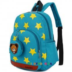Детский рюкзак Звезды 11281, бирюза