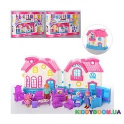 Игровой набор Домик для кукол 1203ABC