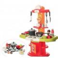 Детская кухня 16808 Modern Kitchen плита духовка мойка посуда продукты 24предмета