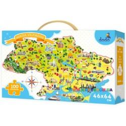 Пазлы Карта Украины DoDo 300109
