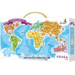 Пазлы Карта мира DoDo 300110