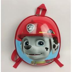 Детский водонепроницаемый рюкзак Веселые щенята HY0001-5 красный