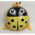 Детский водонепроницаемый рюкзак Божья коровка HY0002-3 желтый