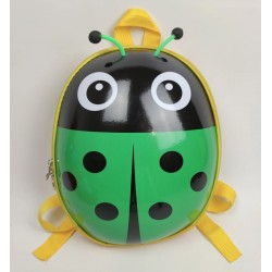 Детский водонепроницаемый рюкзак Божья коровка HY0002-6 зеленый