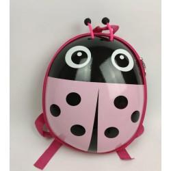 Детский водонепроницаемый рюкзак Божья коровка HY0002-4 розовый