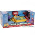 Детский игровой кассовый аппарат Мой магазин  (калькулятор, микрофон, весы) Play Smart 7018