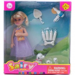 Кукла с аксессуарами Defa 8297