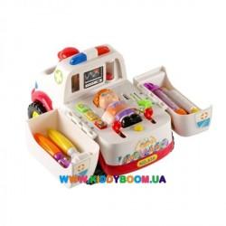 Развивающая игрушка Скорая помощь Hjule Plastic 836