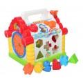 Развивающая музыкальная игрушка сортер Теремок Limo Toy 9196