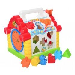 Развивающая игрушка сортер Теремок 9196 Limo Toy