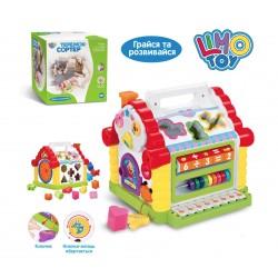 Развивающая музыкальная игрушка сортер Теремок Play Smart 9196