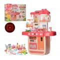 Детская кухня с водой Limo toy WD-P33 (свет, звук) 36 предметов