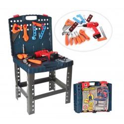 Игровой набор инструментов в чемодане 661-74