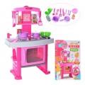 Детская кухня игровая 661-51 со световыми и звуковыми эффектами