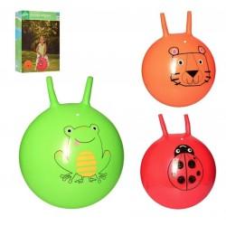 Детский мяч для фитнеса с рожками Прыгун MS 2249 (40 см) в ассортименте
