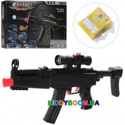 Автомат (гидропули, мягкие пули-присоски 3 шт) в коробке AK45-1