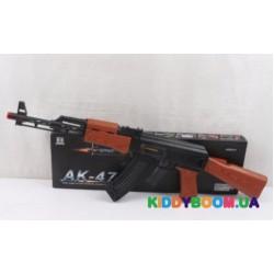 Автомат AK-47 (музыка, свет)