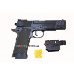 Игрушечный пистолет с лазером HY.716-1