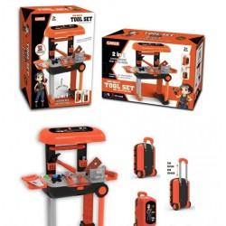 Игровой набор инструментов в чемодане 32 пред. KY1068-15