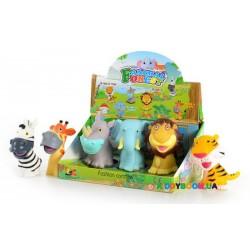 Резиновая игрушка-пищалка для ванны животные LT314A