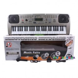 Детский обучающий синтезатор 54 клавиши MQ-807 USB