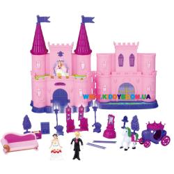 Кукольный замок с мебелью и куклами SG-2964