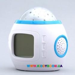 Ночник с проектором, музыкой и термометром UI-1038