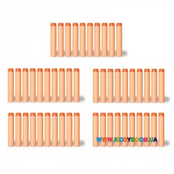 Мягкие снаряды-пульки Zecong toys 01*20
