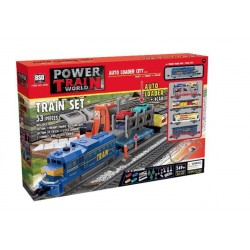 Набор игровой Baisiqi Power Train World 2084
