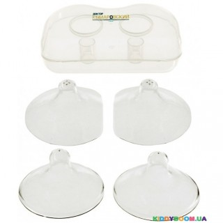 Накладки на грудь для кормления в футляре, 2 размера Кроха Доктор Комаровский 10222