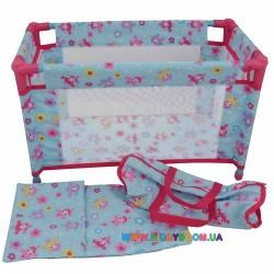 Кукольная кроватка для путешествий в сумке Dolls World 8201