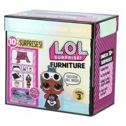 Игровой набор с куколкой  L.O.L.Surprise 570035 Комната Леди-сплюшки