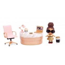 Игровой набор с куколкой L.O.L.Surprise 570042 Кабинет Леди Босс