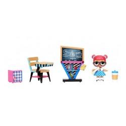 Игровой набор L.O.L.Surprise 570028 с куколкой Класс умницы