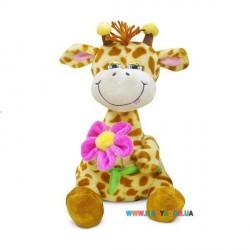Жираф с цветком музыкальный Lava LA8614