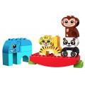Конструктор Мои первые животные-акробаты Lego DUPLO 10884