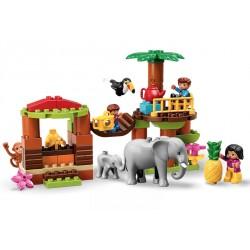 Конструктор Тропический остров Lego Duplo 10906