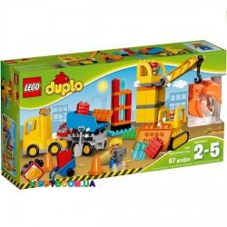Конструктор Lego Большая строительная площадка 10813