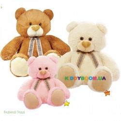 Мягкая игрушка Мишка Тедди (3 вида) большой Левеня К015ТВ