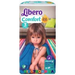 Подгузники Libero Comfort 3 midi (5-9 кг) 62 шт.